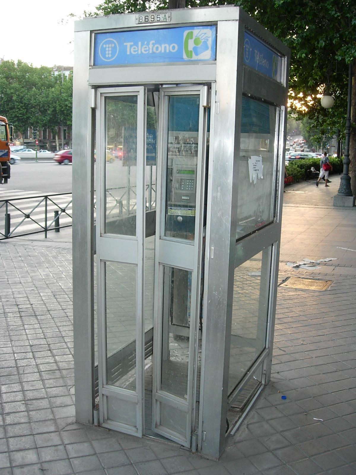 telefono kabina