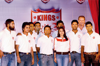 Kings XI, Punjab Team, IPL2, IPL Inaugural, IPL 2009, IPL, Indian Premiere League, indian cricket, DLF IPL News, Cricket news, cricket,