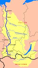 Mapa Jeniseje