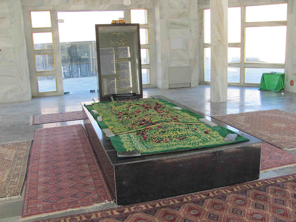 Massoud's grave