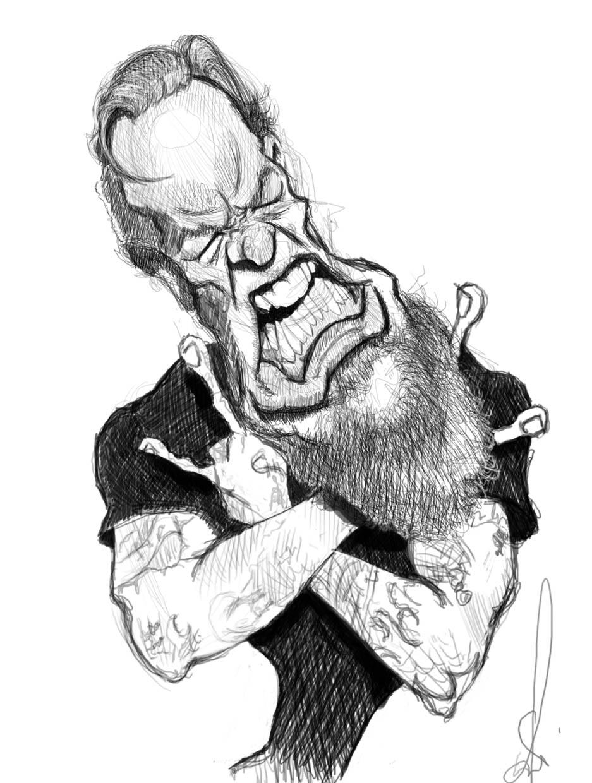 caricaturas del rock  u0026 roll