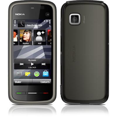 """Nokia_5233_Touchscreen Novo """"console"""" chegando em casa"""