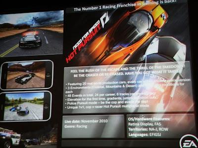 hotpursuit Imagem de Need for Speed: Hot Pursuit (iPhone)