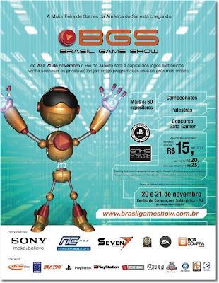 brasil-game-show-2010 Gameloft e Sony Ericsson marcam presença na Brasil Game Show