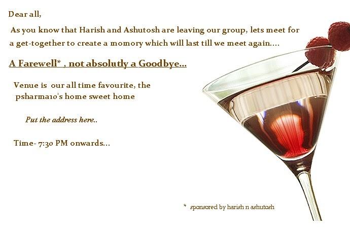 Leaving Party Invitation Template free printable invitation