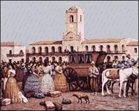 El cabildo de la ciudad Buenos Aires