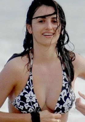 CelebrityBuzz.Us: Penelope Cruz breast in Bikini Wallpapers By Khawer