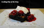 Black Forest Cherry Brownie Dessert