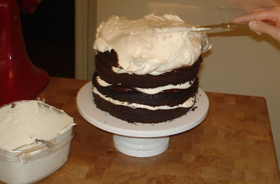 ... : Bon Appetit's Devil's Food Layer Cake with Peppermint Frosting