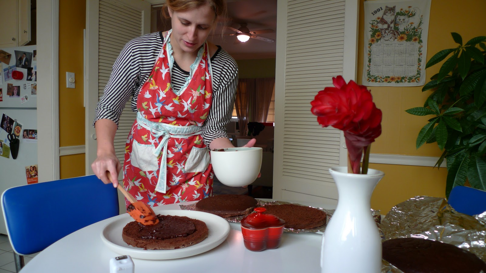 Bon Appétempt: Take Two: Devil's Food Layer Cake with ...