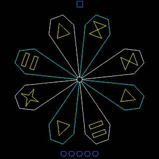 Chirality - abstract manic vector based game.