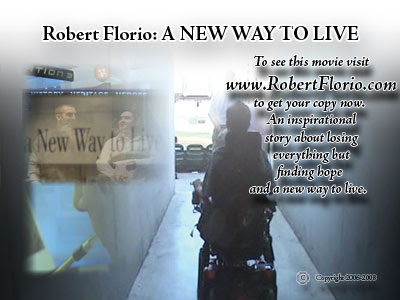 A New Way To Live - DVD by Robert Florio