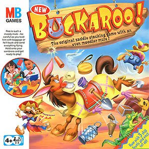 Buckaroo! MB Games / Hasbro traditional game.