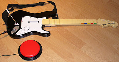 Rock Band Switch Accessible Guitar.