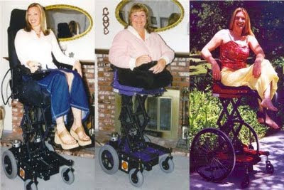 Heights Electric Elevating Manual Wheelchair