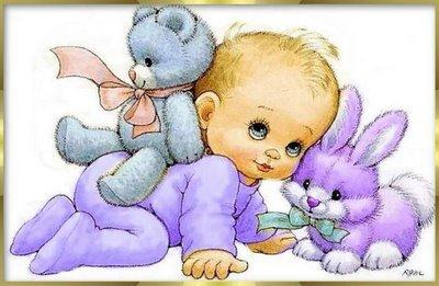 Canastilla para bebé, está formada por un babero, un portachupete ...