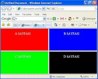 htm - çerceve - html - frame