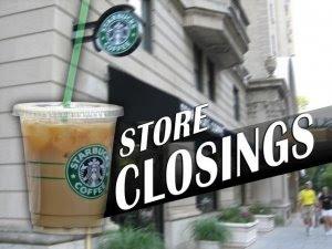 list of starbucks store closings