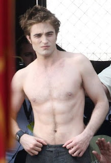 Shirtless Edward