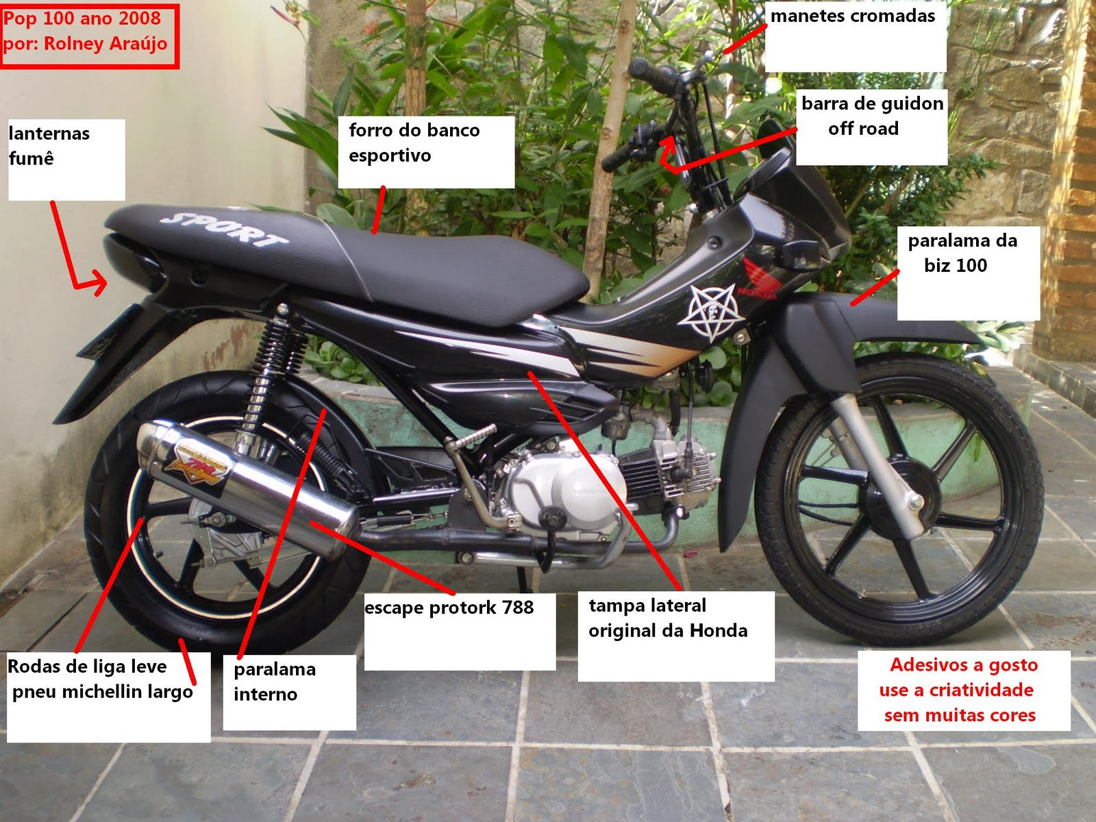 Nova Honda Biz 125 2015 e Pop 100 2015, preço