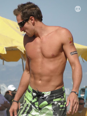 Ty Loomis Shirtless  at San Francisco Open 2009