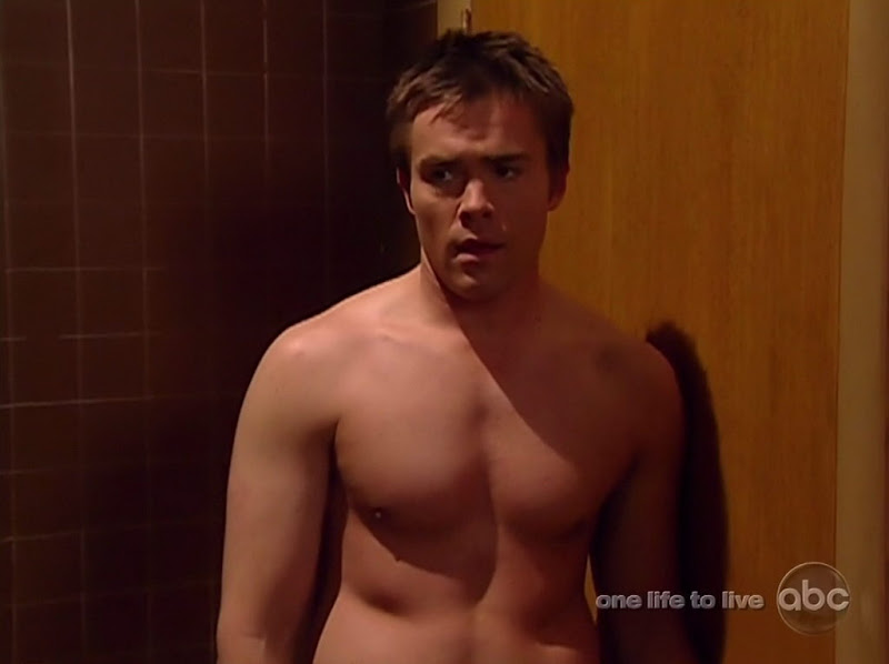 John-Paul Lavoisier Shirtless on One Life to Live 20100511