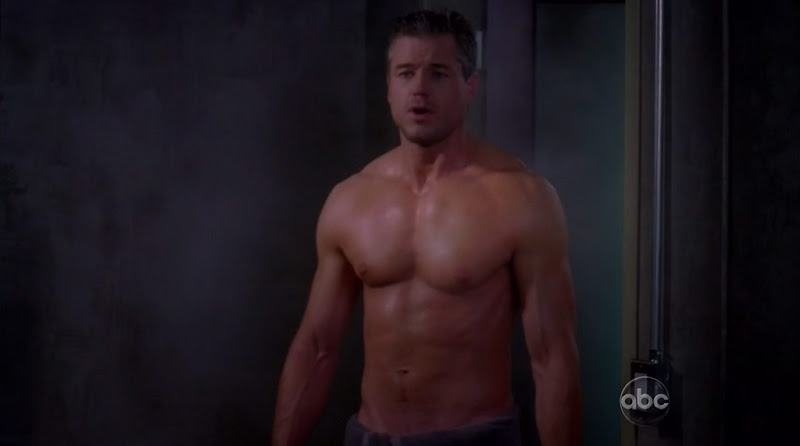 Eric Dane Shirtless on Grey's Anatomy s6e22
