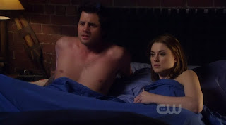 Kristoffer Polaha shirtless on Life Unexpected s1e09