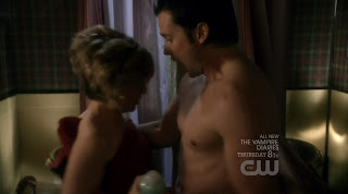 Tom Welling Shirtless on Smallville s9e15