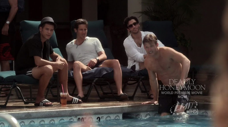 Chris Carmack Shirtless on Deadly Honeymoon