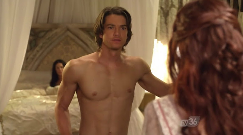 Craig Horner Shirtless on Legend of the Seeker s2e21
