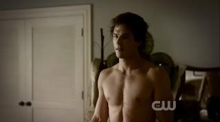 Ian Somerhalder Shirtless on Vampire Diaries