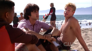Trevor Donovan Shirtless on 90210