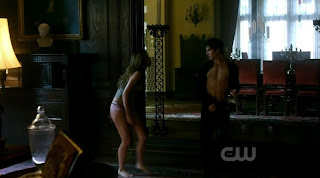 Ian Somerhalder Shirtless on Vampire Diaries s1e06