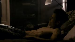 Paul Wesley Shirtless on Vampire Diaries s1e09