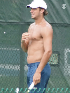 Feliciano Lopez Shirtless at Cincinnati Open 2009