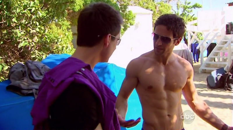 Steve Kocsis Shirtless on The Bachelorette s6e02