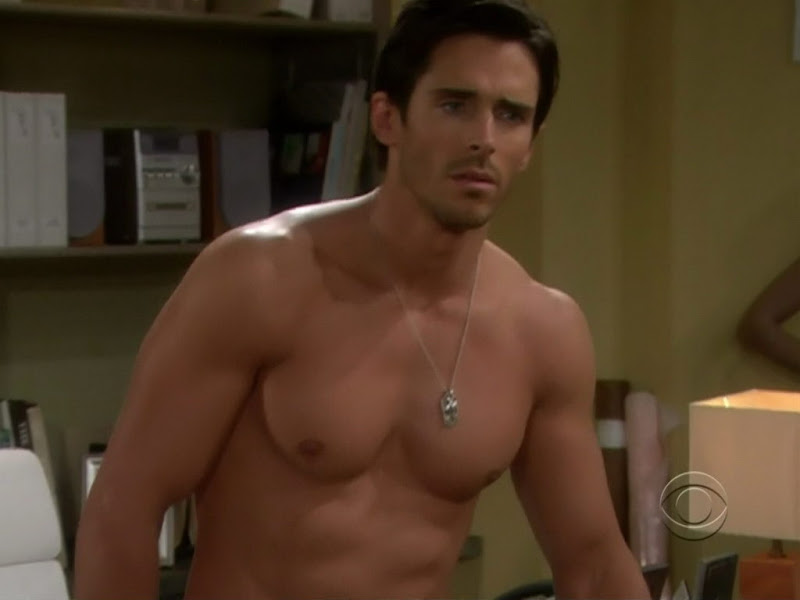 Brandon Beemer Shirtless on the Bold and the Beautiful 20100616