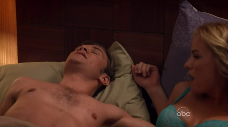 Patrick John Flueger Shirtless on Scoundrels s2e02