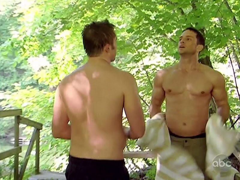 David Fumero and John-Paul Lavoisier Shirtless on One Life To Live 20100624