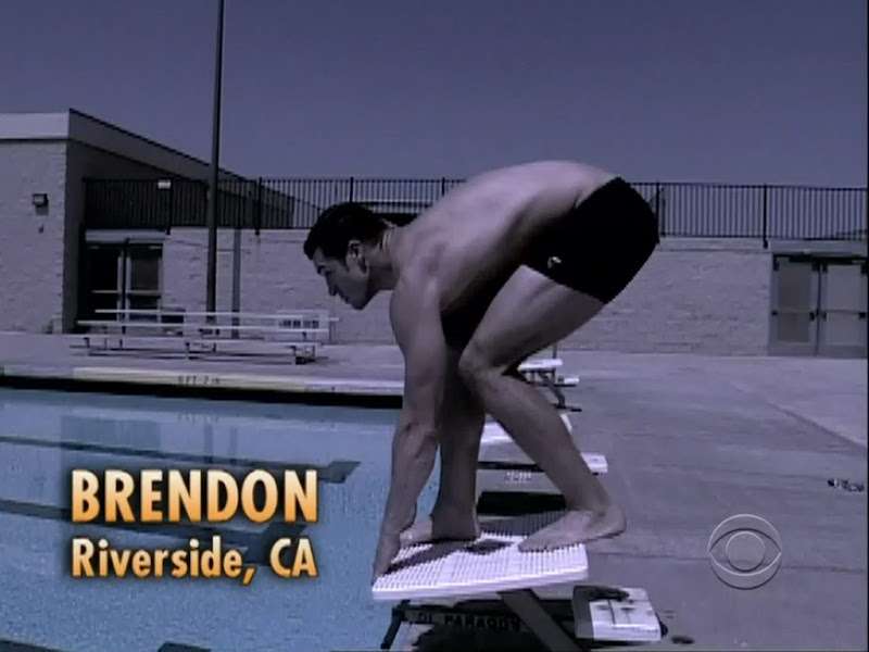 Brendon Villegas Shirtless on Big Brother s12e01