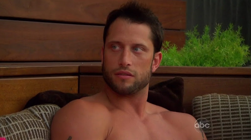 David Good Shirtless on Bachelor Pad s1e03