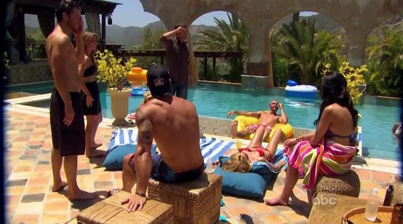 Jesse Kovacs Shirtless on Bachelor Pad s1e04