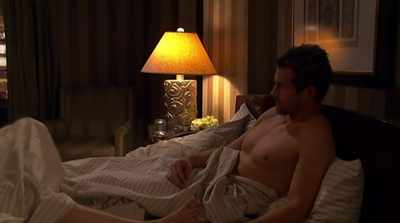 Josh Kelly Shirtless on One Life To Live 20110111