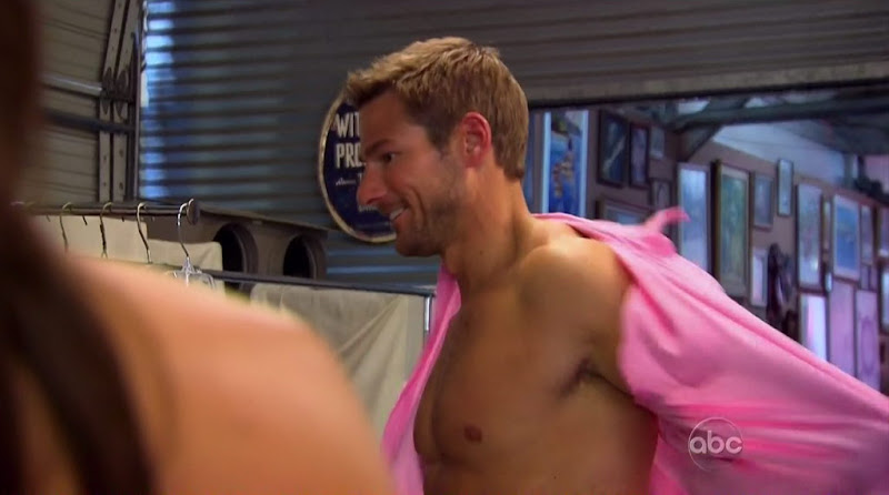 Brad Womack Shirtless on The Bachelor s15e02