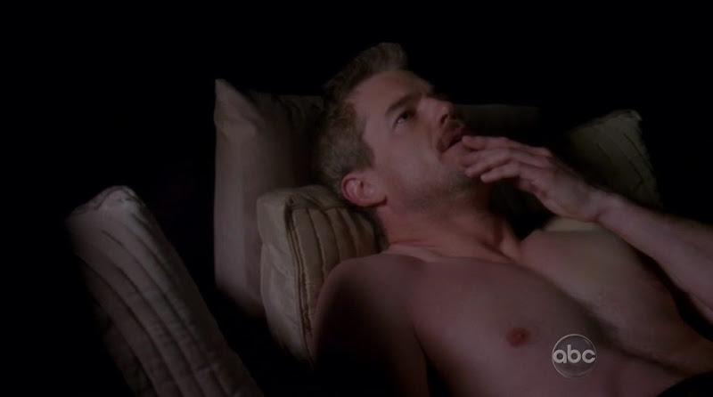 Eric Dane Shirtless on Grey's Anatomy s7e13