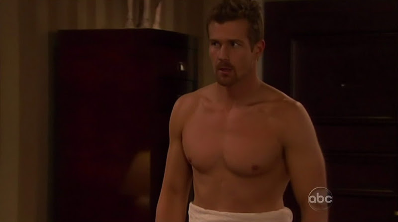 Josh Kelly Shirtless on One Life To Live 20110112