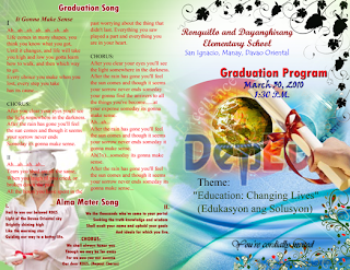 Adobe Photoshop cover design Graduation Program
