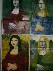 Mona Lisa manipulação de imagem