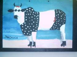 Vaca,manipulação de imagem